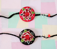 Korean Original Import Hair Accessories / Korean Hand embroidered Korean Clothing Hair Band / Stage Hair Accessories