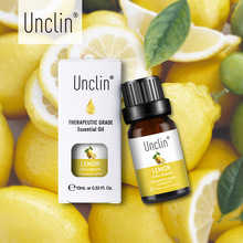 Unclin 10ml Lemon Pure Essential Oils Humidifie Diffuser Cal
