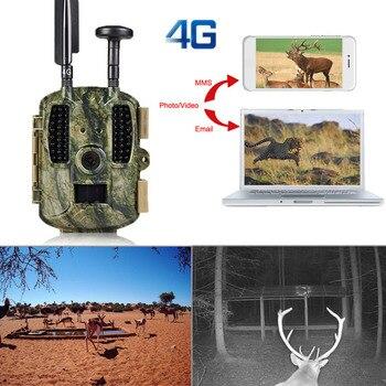 Photo Trap Hunting camera 4G With 8000mah Solar Panel HD Video GPS Wildlife Trail Camera BL480L-P 4