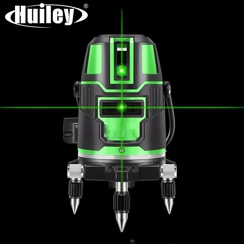 2/3/5 linhas transversais laser nível auto-nivelamento 360 rotatable interior exterior verde raio alternando vertical horizontal direto