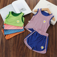 Summer Kids Boys Clothes Sets Baby High Qulity Short T shirt + Pants Toddler Boy Clothing Casual Outfits sportswear