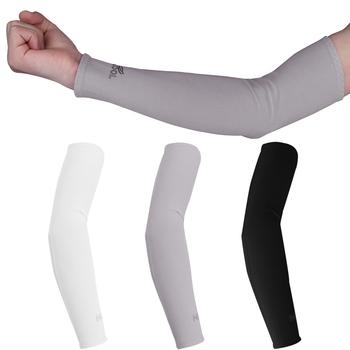 1 para kolarstwo Running mankiet rękawy naramienne ocieplacze na ręce rower Anti-UV mankiet pokrywa rękaw ochronny rękaw rower ocieplacze na ręce rękawy tanie i dobre opinie CN (pochodzenie) 38cm Arm Sleeves NYLON UV Protection Arm Sleeves Arm Sleeves for Running Cooler Arm Sleeves Arm Sleeves for Bike