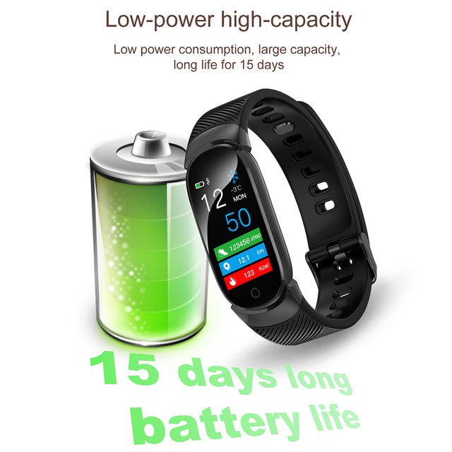 Nuevo reloj inteligente deportivo resistente al agua para mujer pulsera inteligente banda Bluetooth Monitor de ritmo cardíaco rastreador de Fitness reloj inteligente