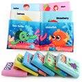 Детская тканевая книга, Обучающие Игрушки для раннего развития интеллекта, развития мягкого обучения, познания книг для чтения 0 -12 месяцев