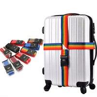 420cm Einstellbare Gepäck Strap Reise Ätherisches Zubehör Koffer Liefert Festen Gürtel Passwort Riemen Für 18-34 zoll Koffer