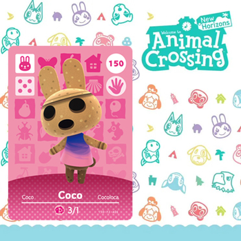 150 Coco Amiibo Animal Crossing Card Set Amiibo Figures New Horizons NFC For Switch NS Games Amibo Series 1 2 3 4 Villager