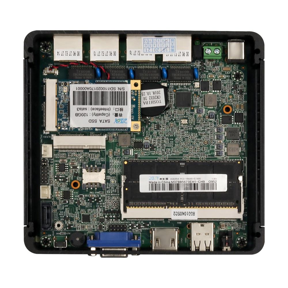 Image 5 - Firewall Router Intel Celeron J1900 J1800 N2806 Mini PC PFsense Intel i211AT Gigabit Ethernet NIC 4x RJ45 HDMI VGA WiFi SIM Slot-in Mini PC from Computer & Office