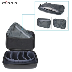 Image 5 - SOONSUN Portable Waterproof Shockproof Protective Storage Case Bag Box for GoPro Hero 9 8 7 6 5 4 for DJI Osmo Action Accessory