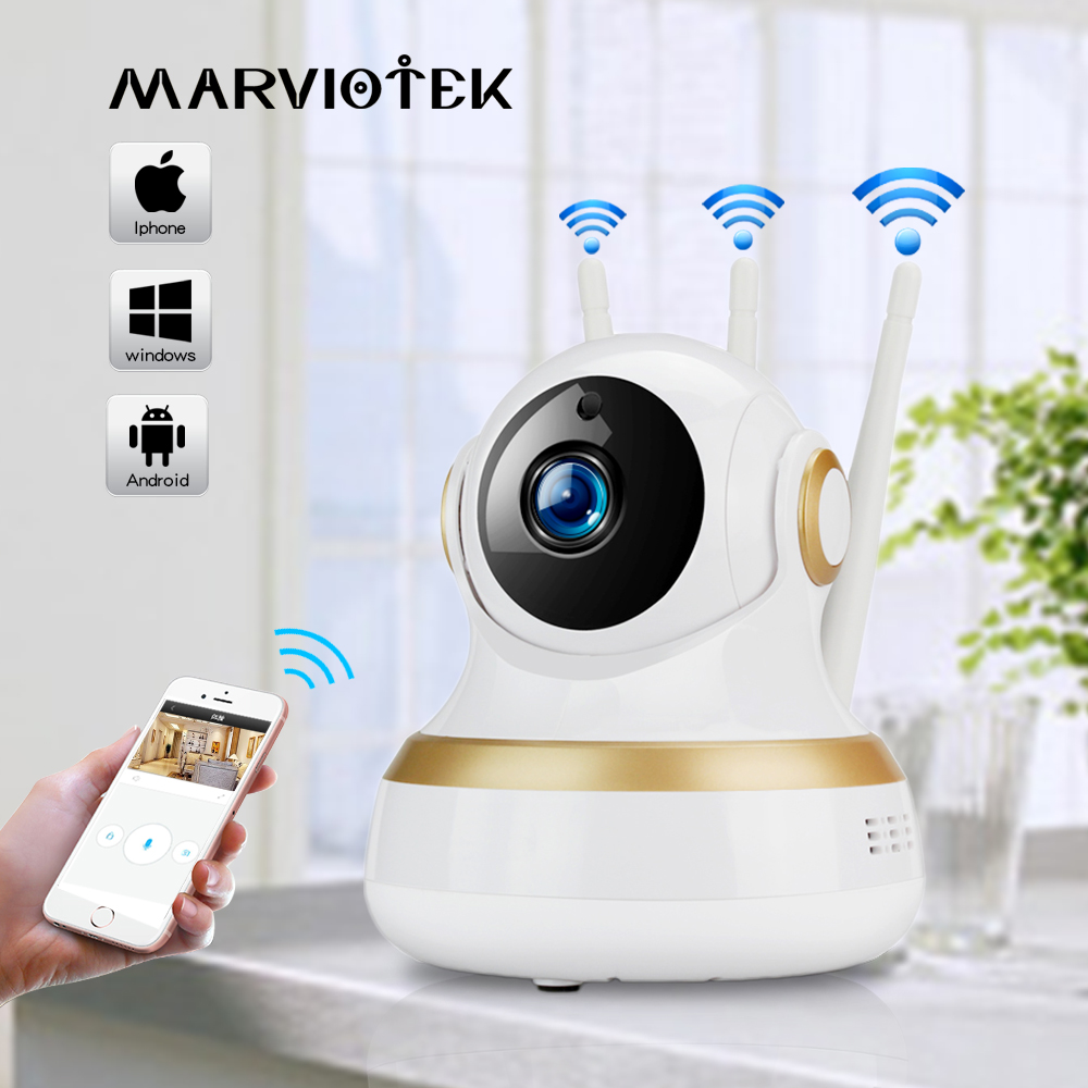 1080P Baby Monitor wifi IP Camera Wifi night vision baby Camera with monitor Audio video nanny cam Baby phone two way audio p2p
