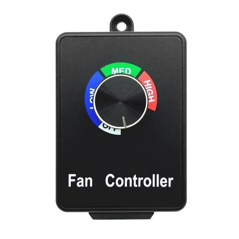 Motor Speed Controllers,Air Fan Speed Controller Max 350W Hydroponic Inline Duct Fan Speed Controller Adjuster Us Plug