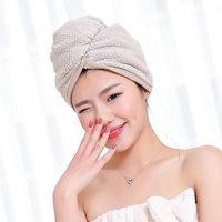 Microfiber Hair Towel Quick Magic Hair Dry Hat Turban Twist Hair Towel Wrap Head TowelQuick Dry Super Absorbent