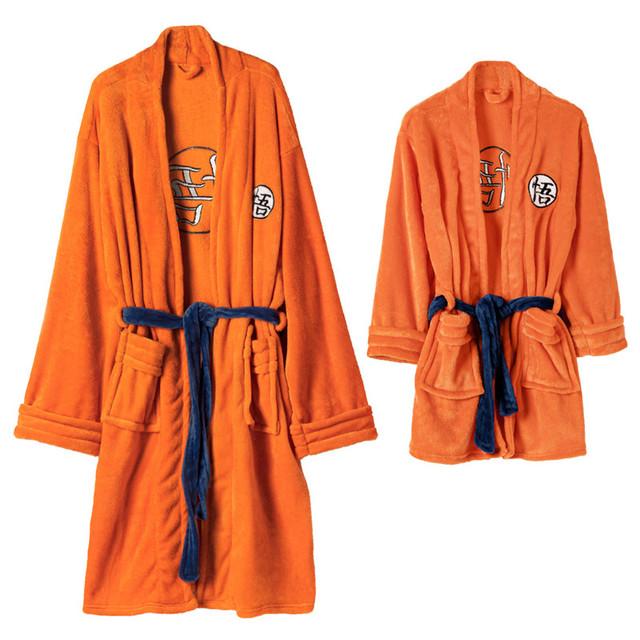 Dragon Ball Z Son Goku Bathrobe Costume