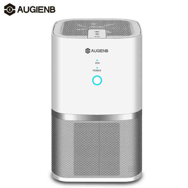 AUGIENB A-DST01 Air Purifier HEPA Active Carbon Filter Sterilizer Odor Allergies Remover For Smoke,VOCs,Pollen,Dander,Smog,PM2.5