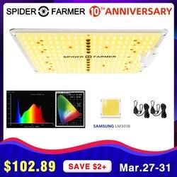 SF 600W LED élèvent la carte quantique Samsung LM301b de fermier d'araignée de spectre complet de lumière pour des plantes d'intérieur graine fleurs de VEG élèvent la tente