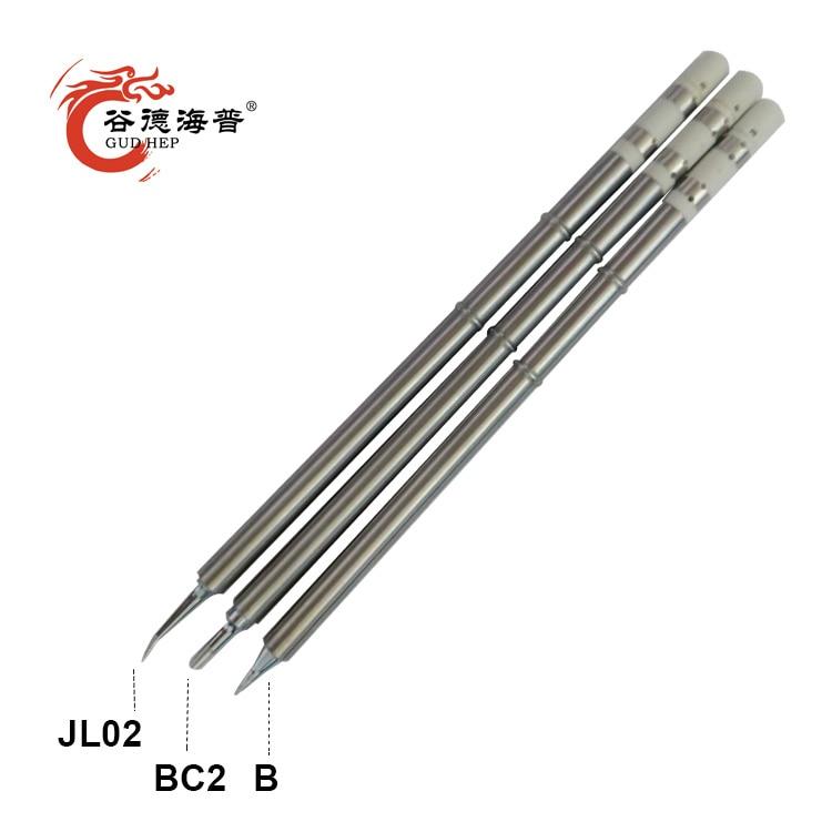 Gudhep T13 Soldering Tips T13-JL02 BC2 B K I Welding Tips For FM2026 FX950 FX951 FM203 FX780 FX790 Soldering Station