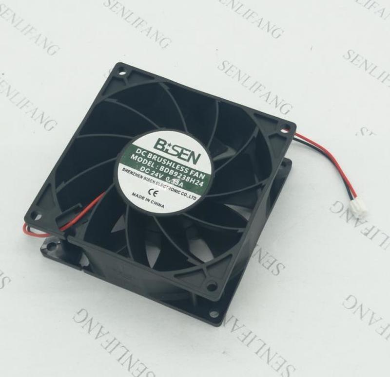 For Brand  Original 9238 BDB9238H24 24V0.33A 2 Line 9CM Cooling Fan