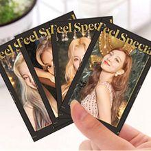 10 шт/компл kpop наклейка для двух слотов lomo card двойная