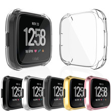 Case-Cover Watch-Accessories Versa-Band-Case Fitbit 2-Slim Screen-Protective Ultra-Thin