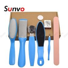 Tools-Set Skin-Care-Products Foot-Care-Tool-Kit Sunvo Scraper Pedicure Profession Hard-Skin-Callus-Remover