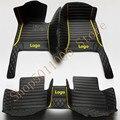 Tapis de pied de voiture pour bmw f10 x5 e70 e53 x4 f11 x3 e83 x1 f48 e90 x6 e71 f34 e70 e30 | Accessoires étanches