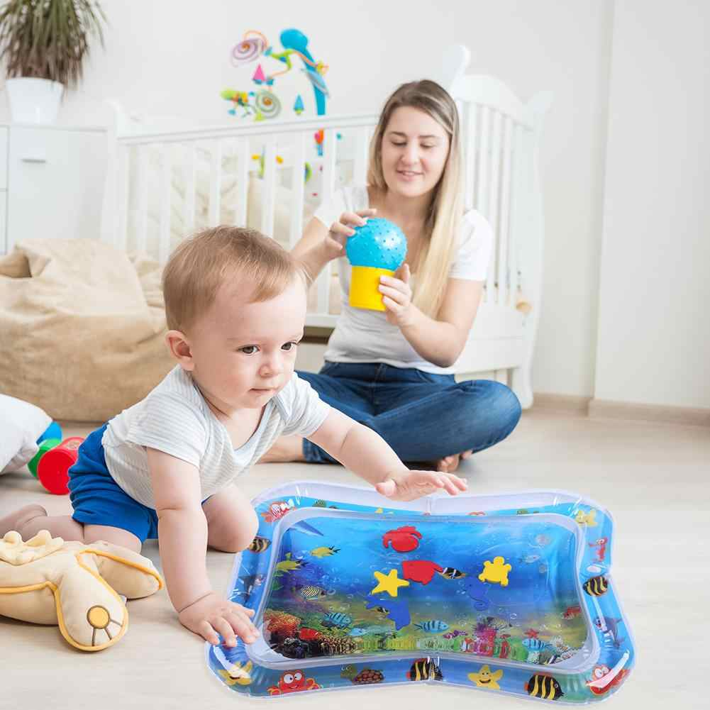 tapis d eau gonflable d ete tapis de jeu pour bebe activite amusante coussin de securite tapis de glace tapis d education precoce aleatoire