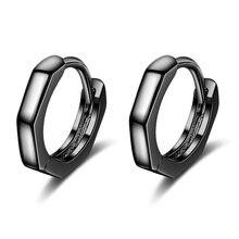 Новые модные серьги кольца в минималистском стиле милые темпераментные
