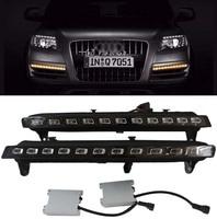 LED Blinker Indicator Dynamic Turn Light For 2007 2010 Audi Q7 22 LED Direct Fit 22 LED Daytime Running Lights Turn Signal
