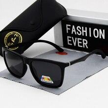 Солнцезащитные очки поляризационные uv400 для мужчин и женщин, зеркальные, для вождения