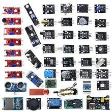 Aeak para arduino 45 em 1 sensores módulos starter kit melhor do que 37in1 sensor kit 37 em 1 sensor kit uno r3 mega2560