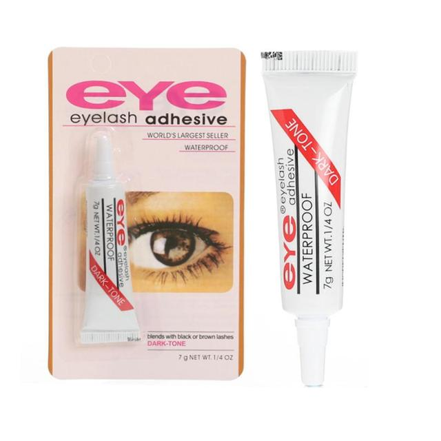 1PC False Eyelash Glue Eyelashes Makeup Adhesive Eyelash Clear-Clear/Dark Waterproof Eyelash Glue Lash Extension Tools TSLM1 3