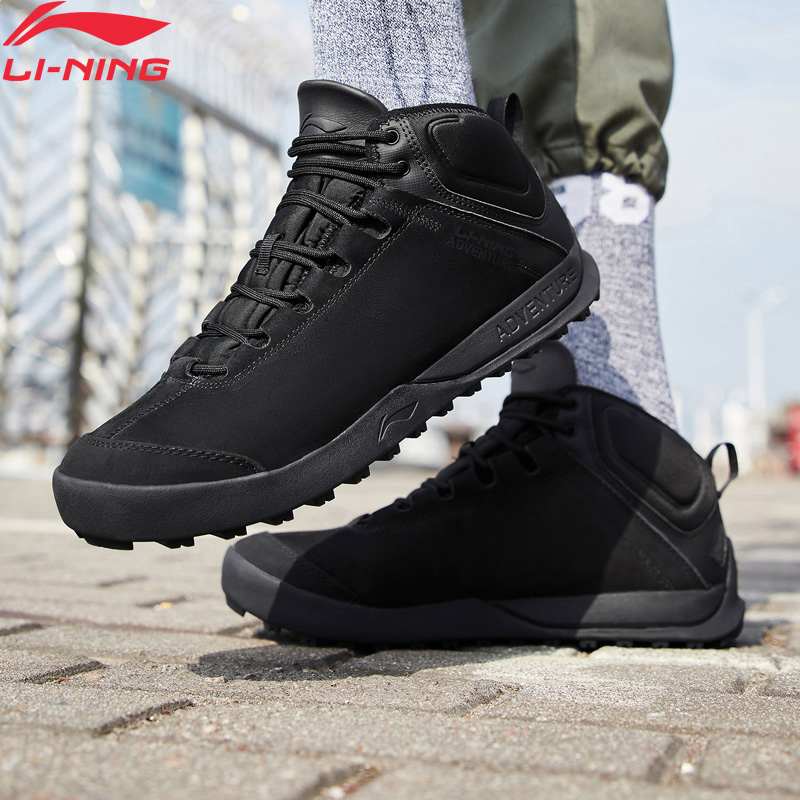 Li-Ning Men UNSTOPPABLE TIGER Adventure Outdoor Shoes Warm Fleece LiNing Li Ning Sport Shoes Lifestyle Sneakers AHCN013 YXB247
