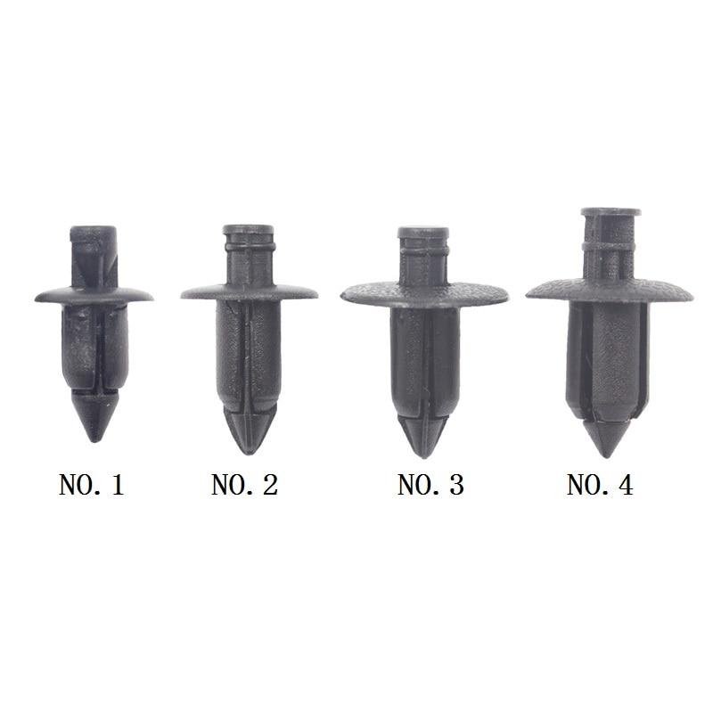 20x Автомобильные пластиковые заклепки для обтекателя, крепежные зажимы для панели, 6 мм, 7 мм, 8 мм, крепежные штифты