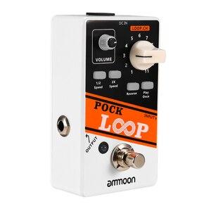 Image 2 - ammoon POCK LOOP Looper Guitar Effect Pedal 11 Loopers Max.330mins Recording Time guitar pedal guitar accessories guitar parts