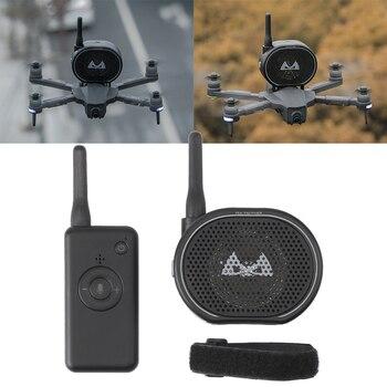 Głośny uniwersalny łatwy w instalacji pilot zdalnego sterowania z magiczna naklejka USB ładowanie Drone megafon głośnik bezprzewodowy