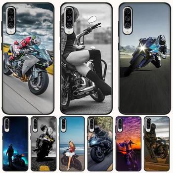 Funda de teléfono deportiva Mantin Moto Cross Moto para Samsung A10 20 30 40 50 70 10S 20S 2 Core C8 A30S A50S A7 8 9