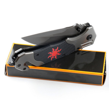 Outdoor tactical wilderness survival multifunctional folding knife outdoor portable cleaver knife  kitchen tools accessories 5