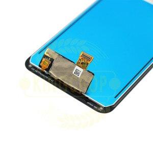 Image 5 - Für LG K12 Max LCD Screen Display LMX520BMW, LMX520EMW Digitizer mit rahmen Montage Handy Teile Für LG k50 Q60 lcd