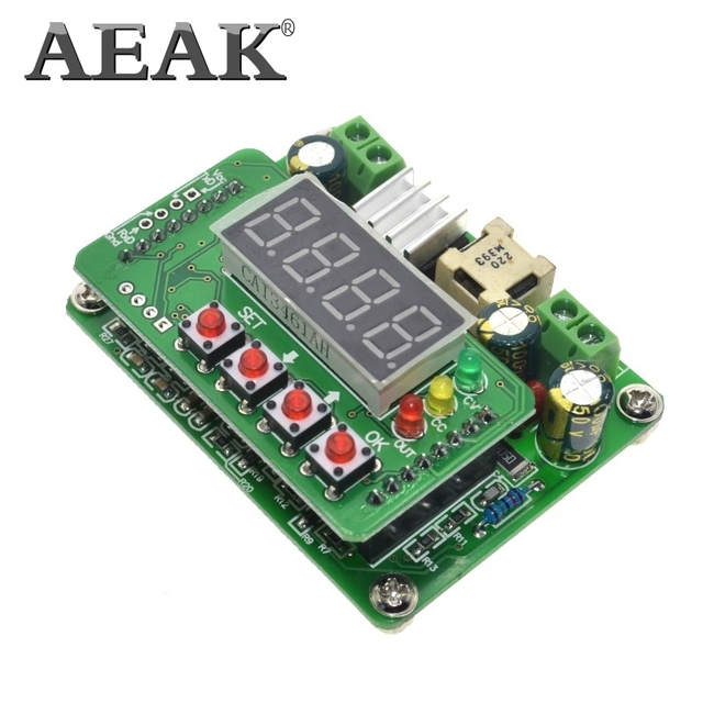 AEAK B3603 NC DC источник питания Регулируемый понижающий модуль Напряжение Амперметр 36V3A108W зарядное устройство умная электроника