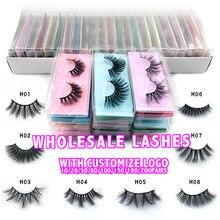 wholesale price faux mink eyelashes hand made false eyelash natural long 3d mink lashes makeup natural false lashes in bulk