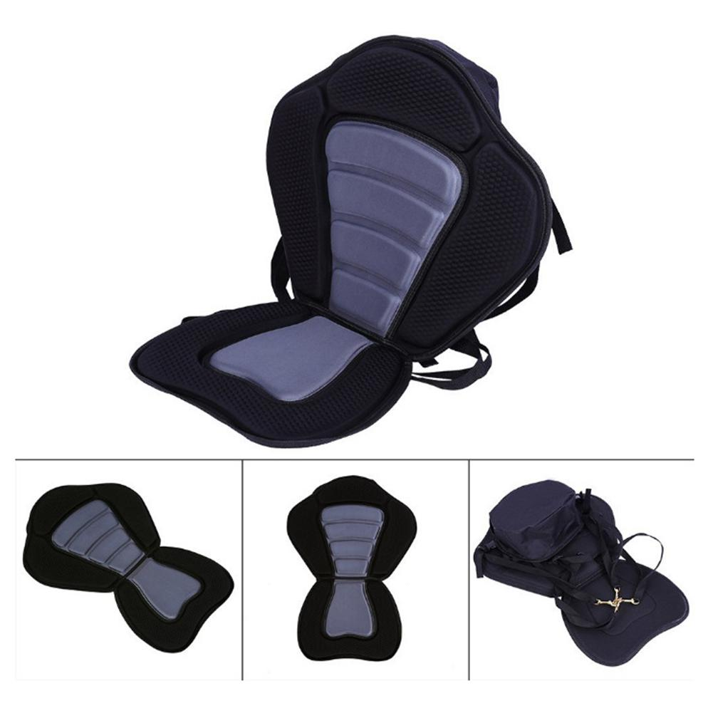 Adjustable Padded Kayak Seat with Storage Bag