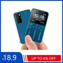 Original Neue SOYES S10P Mini Karte Telefon 2G GSM 400mAh 1.54 ''MTK6261M Handy Ultra-Dünne Mode kinder Kleine Größe Handys