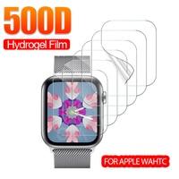 Pellicola salvaschermo a copertura totale per Apple Watch 3 4 5 6 SE 42mm 44mm 38mm 40mm per iWatch 2 1 pellicola protettiva in idrogel (non vetro