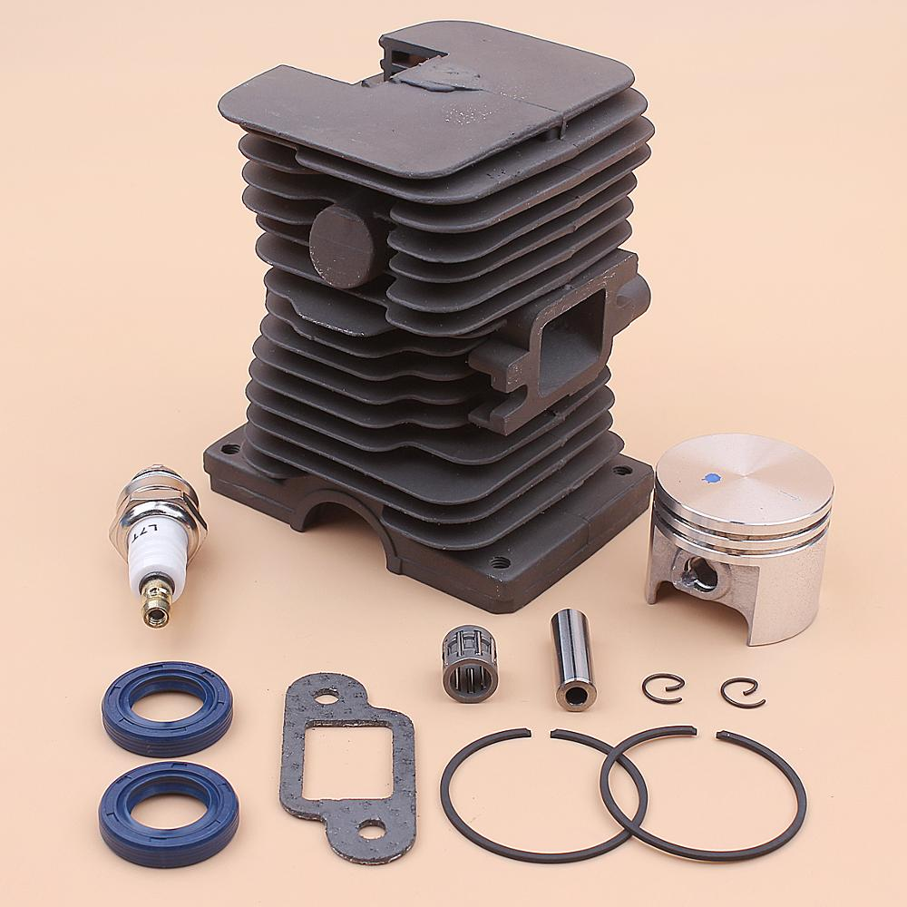 Stihl Bearing 1204 017 Muffler 1130 Seal 37mm Kit MS Spark Plug MS170 Oil 020 Piston Gasket For 170 Cylinder Chainsaw