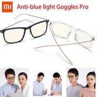 Xiaomi Mijia-Gafas de luz azul para hombre y mujer, ultraligeras, antifatiga, UV, Protector de ojos para jugar, ordenador y PC