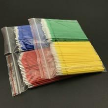 400 pces laboratório dental longo descartável micro aplicadores escovas escova dental