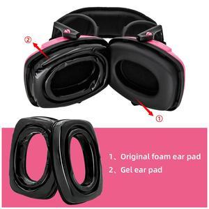 Image 1 - 하니웰 임팩트 스포츠 귀마개 전술 헤드셋 전자 슈팅 방한용 귀 가리개 용 젤 이어 패드