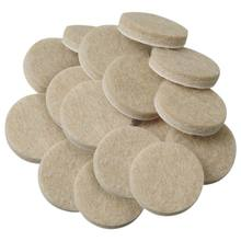 Self-Stick Furniture Round Felt Pads for Hard Surfaces 48-Pcs(China)