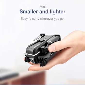 2021 New Kk1 Mini Drone 4k Hd Camera profesional Rc Drones Wifi Fpv Dron Toy Outdoor Rc Quadcopter Fixed height Helicopter Toys 6