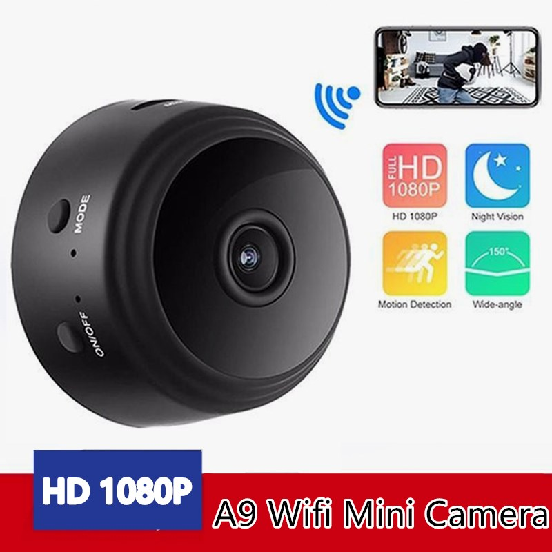 A9 Wifi Mini Ip Camera Wireless Home Security Camera 2.4ghz Wifi Micro Camcorder Video Recorder Support Remote Mini Camcorders Structural Disabilities