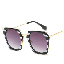 Will Frame Cat Eye Sun Glasses Male Maam General Purpose Half Metal Sunglasses Sunshade
